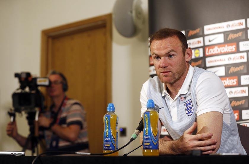 Britain Football Soccer - England Press Conference - St. George's Park - 30/8/16 England's Wayne Rooney during the press conference Action Images via Reuters / Carl Recine Livepic EDITORIAL USE ONLY.